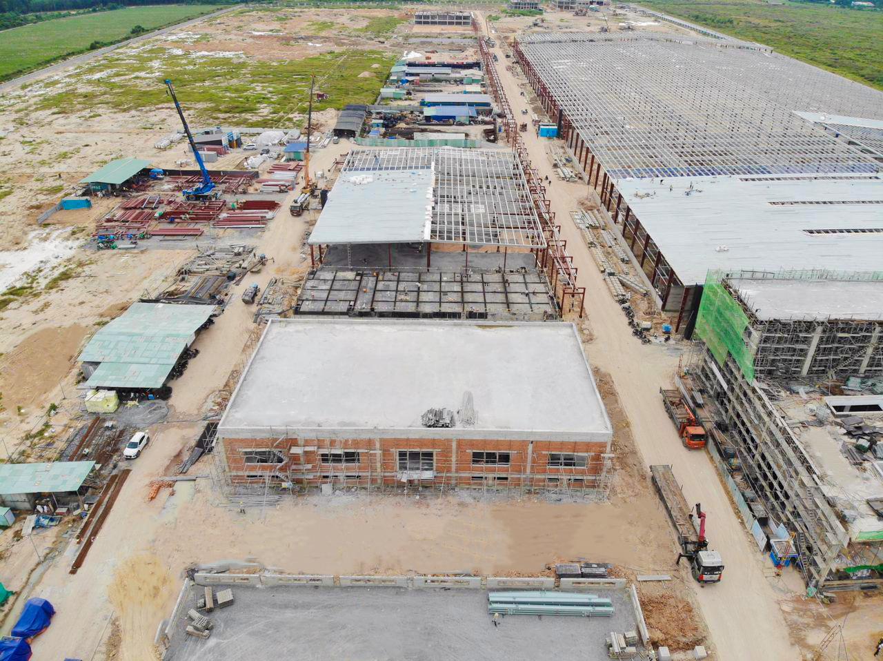 Nhà xưởng JINYU Việt Nam